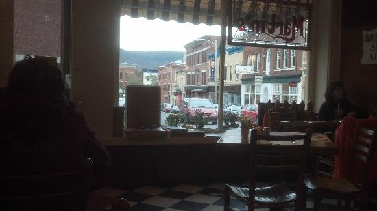 Martin's Restaurant: view from a 2-top by the wall.