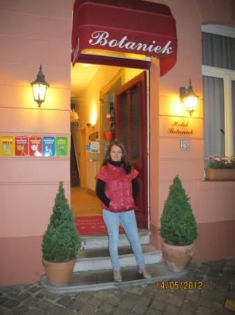 Botaniek  Hotel: вход