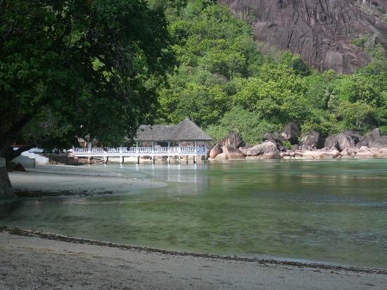 Le Domaine de La Reserve: Il ristorante/pontile
