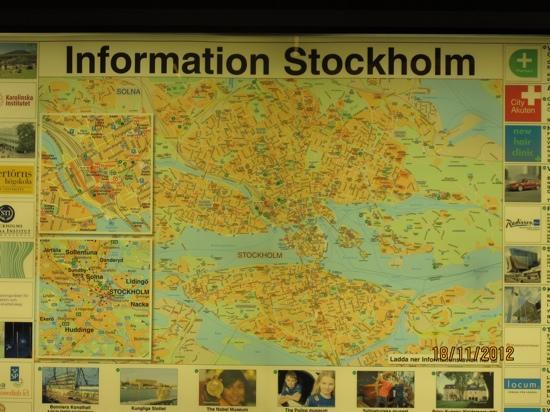 First Hotel Kungsbron: карта Стокгольма))