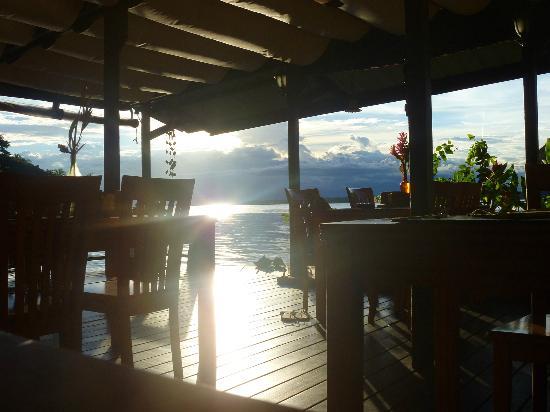 Eclypse de Mar: Vista del comedor donde podes desayunar, almorzar y cenar