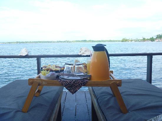 Eclypse de Mar: Desayuno desde el Deck