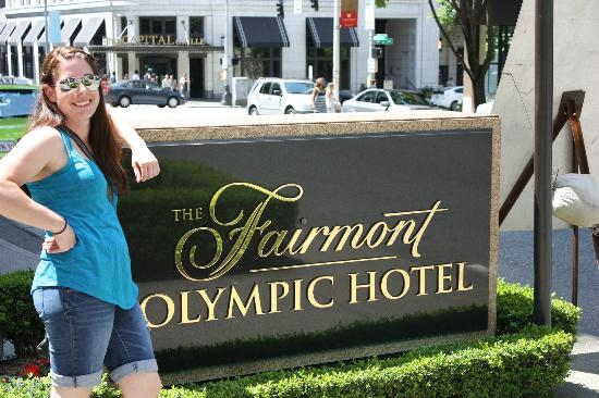 The Fairmont Olympic Seattle: Just a few minutes walk to Pike Place Market