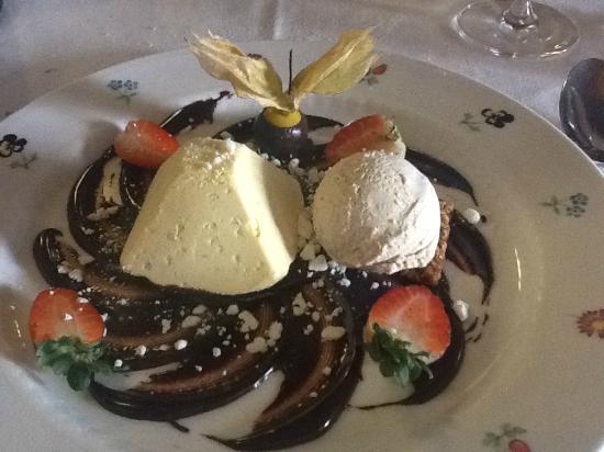 L'Osteria del Vignaiolo : Dessert doppio