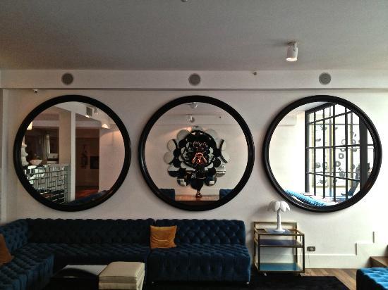 Hotel Pulitzer Buenos Aires: Upstairs bar