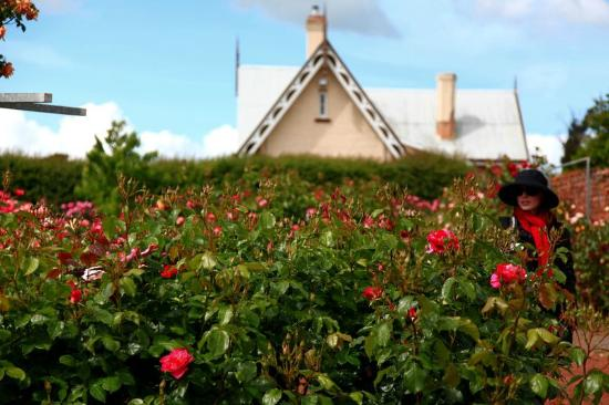Longford, Australië: Erin lost in Roses