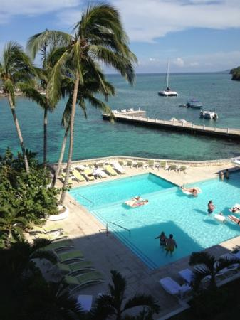 Couples Tower Isle: from our deluxe oceanfront room