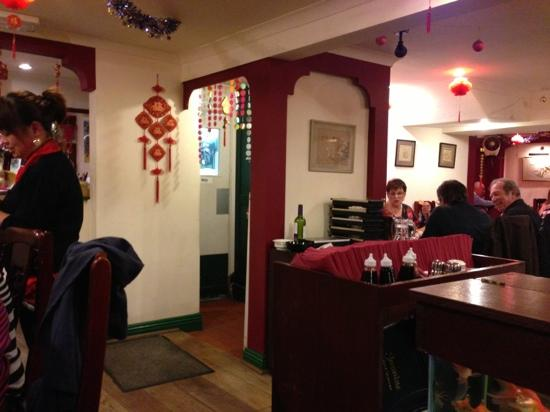 Jasmin Chinese Restaurant : dining area