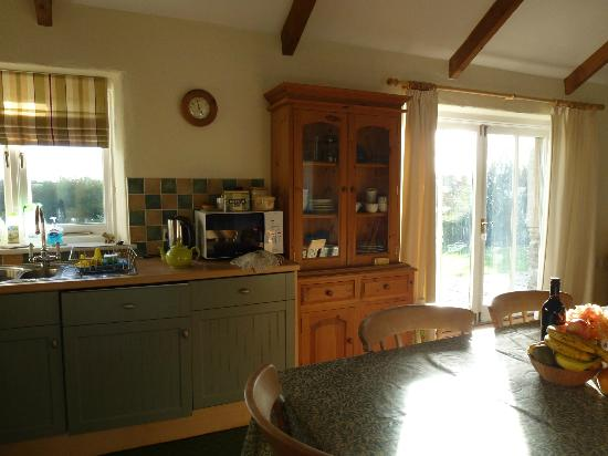 Pollaughan Holiday Cottages: Kitchen in Willows Cottage
