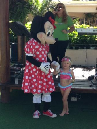Green Garden Resort & Suites: mollie and Minnie Mouse