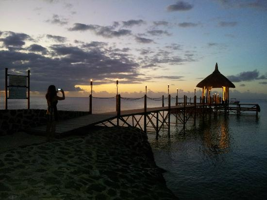 Maritim Resort & Spa Mauritius: Você pode ter um jantar romântico neste quiosque
