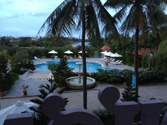 Indochine Hotel: View from our room