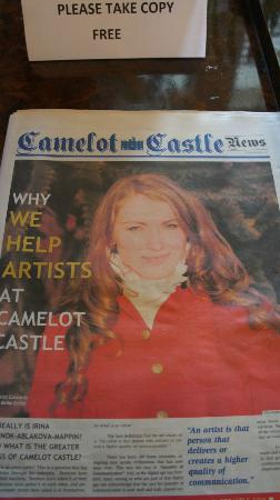 Camelot Castle Hotel: Lovely Irina