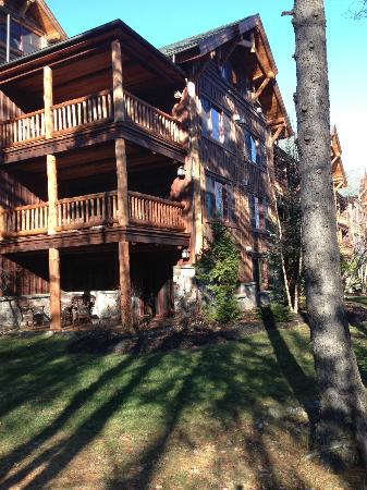 The Whiteface Lodge: Our corner residence - bottom floor.