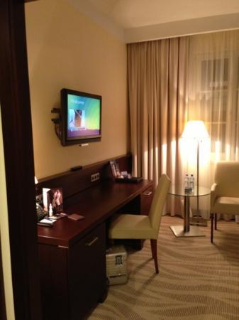 Radisson Blu Hotel Gdansk : Arbeitsbereich. wifi kostenlos