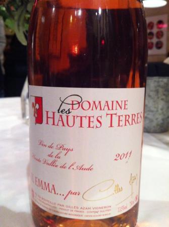 Le Taxi Jaune : Delightful rosé.