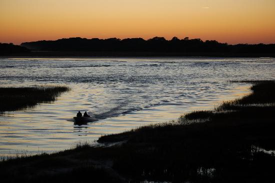 Fripp Island Resort: Sunset