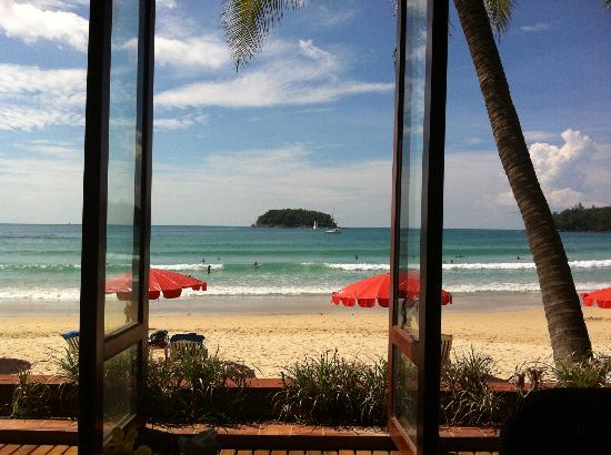 The Boathouse Phuket : View from lounge
