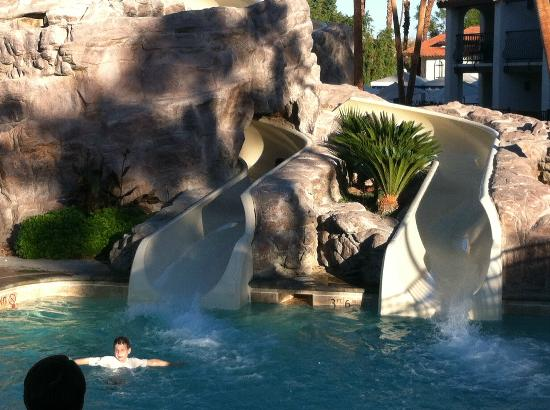 Omni Rancho Las Palmas Resort & Spa: Water slides
