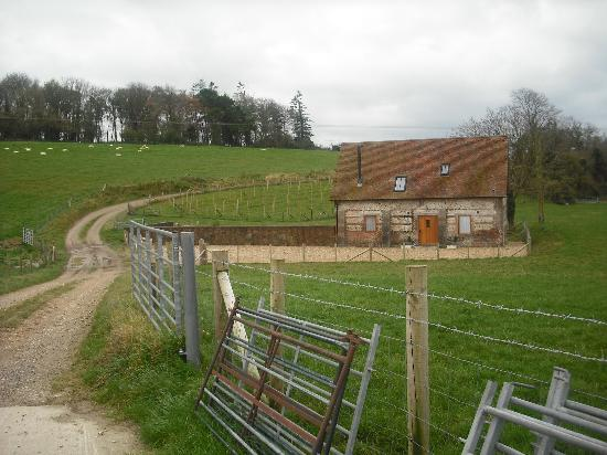 Winterborne Whitechurch, UK: set away from farm buildings