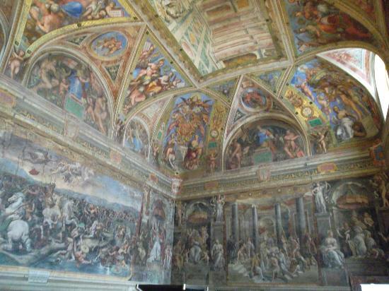 Βατικανό, Ιταλία: raphael's rooms