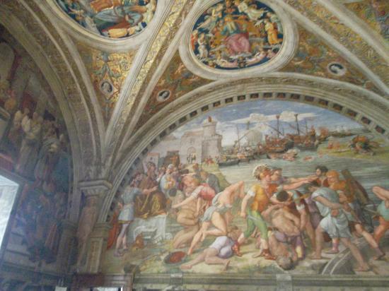 นครวาติกัน, อิตาลี: raphael's rooms