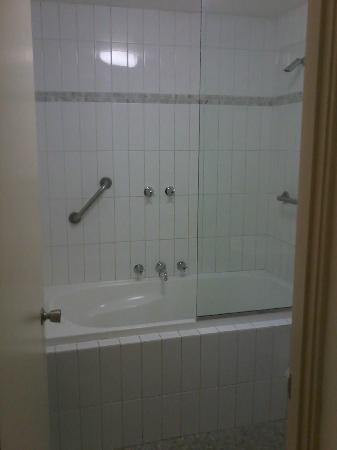 Sullivans Hotel: Bath/shower