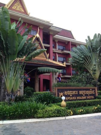 Apsara Holiday Hotel: nice place in cambodia