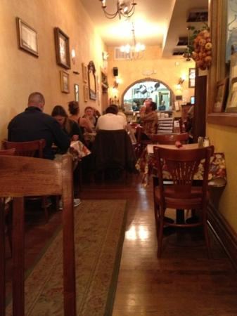 Pizzeria Rustica: cozy