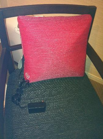 Mitsui Garden Hotel Yotsuya: best room amenity you'll need for sure - electric massage pillow
