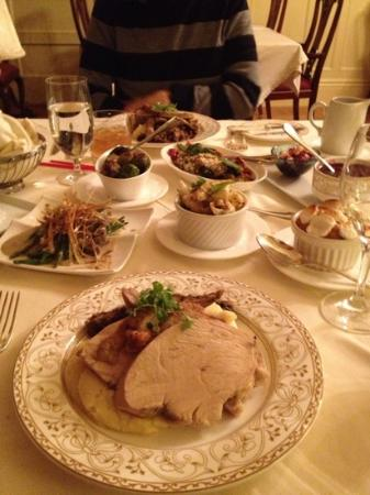 The Inn at Erlowest: Thanksgiving Feast was delicious!