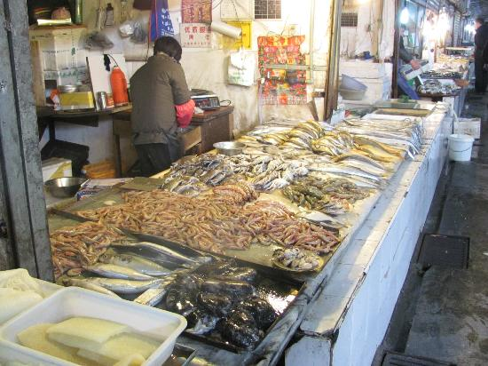 Shanghai, China: Seafood - as fresh as it gets