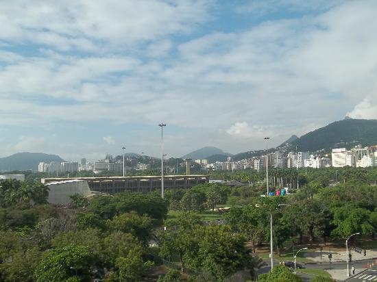 Aeroporto Othon: Vista da Sacada do 7° Andar - Aeroporto Hotel Travel