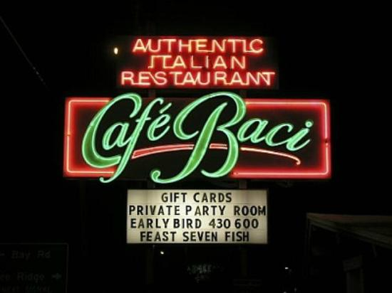 Cafe Baci : One of Sarasota's Best