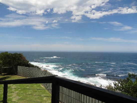 NRMA Merimbula Beach Resort and Holiday Park: one of the views from our verandah