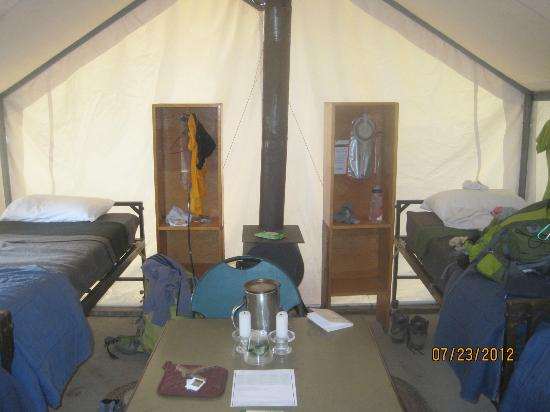 Yosemite High Sierra Camps : Tent at Vogelsang