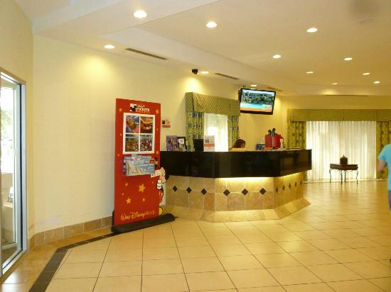 Comfort Inn Orlando/ Lake Buena Vista: Lobby