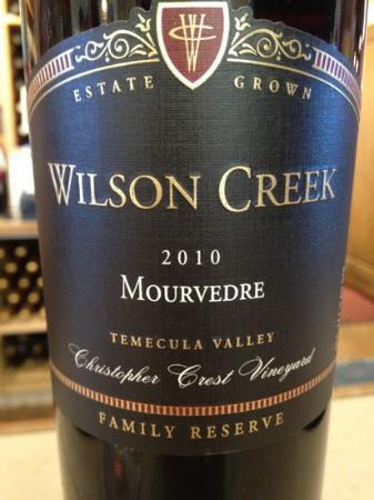 Wilson Creek Winery: テイスティングでお試しを
