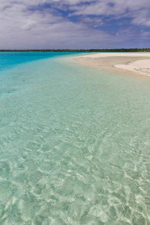 Aitutaki Adventures: Sand bar