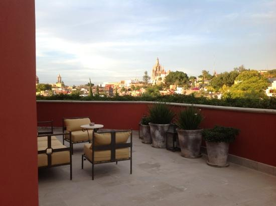 Rosewood San Miguel de Allende: View from Suite 302.