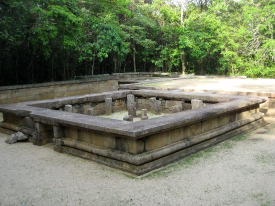 Ritigala Forest Monastery : Platform Buildings