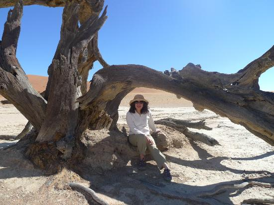 Namib-Naukluft Park, Namibië: Exploring Deadvlei