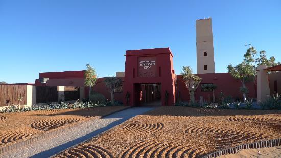 Namib-Naukluft Park, Namibië: Sossusvlei Lodge