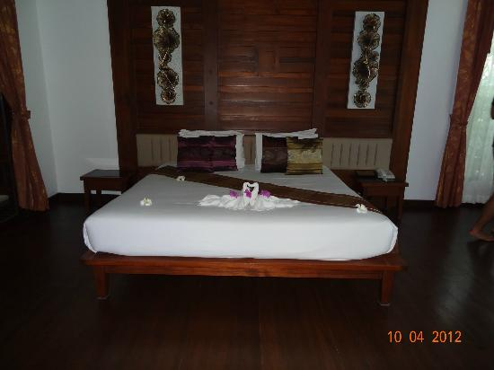 Railay Village Resort: Our bed