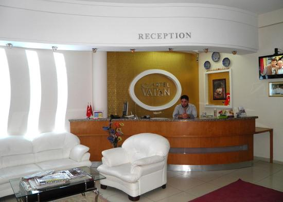Vatan Hotel: The reception looked better than the rest..