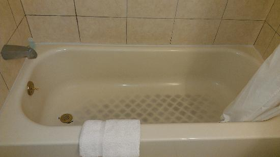 Parkway Inn: ugly looking bath tub
