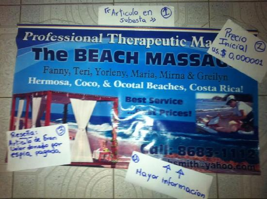Playa Hermosa, Costa Rica: the ORIGINAL Beach Massage call 86831112