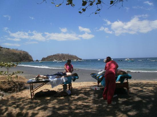 Beach's Massage: Two massages on OCOTAL BEACH