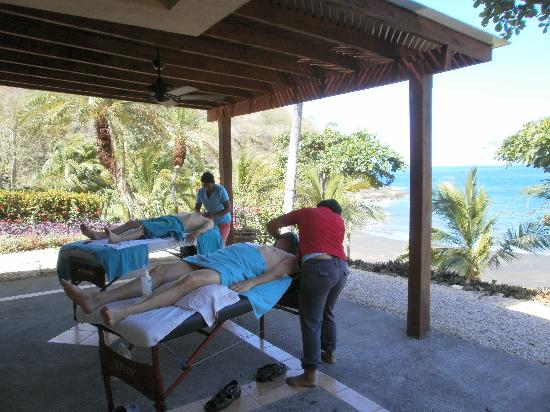 Beach's Massage: Door to door service to your Pez Vela Villa, Near Ocotal