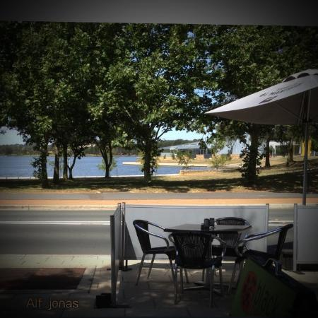 Black Pepper Cafe & Bar: View from my table!!